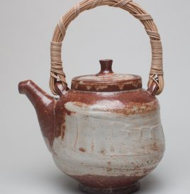 Teapot with Woven Clay Handle
